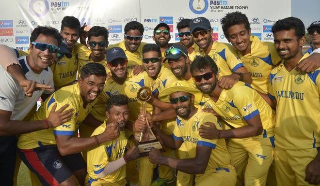 तमिलनाडु ने किया विजय हजारे पर कब्जा