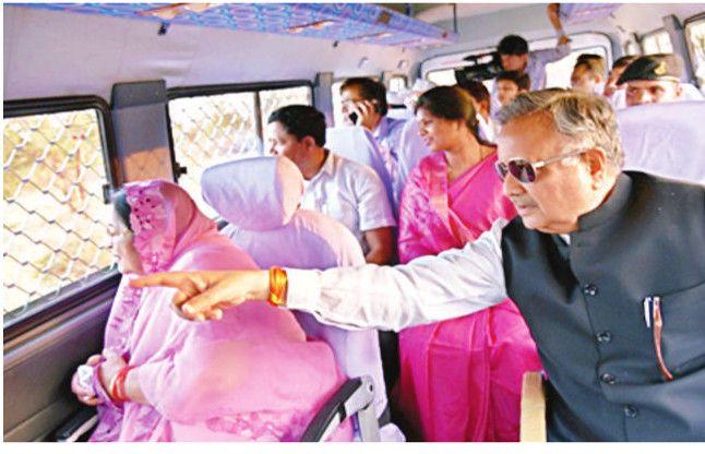 रमन सिंह ने किया लायन सफारी का लोकार्पण, सीएम अचानक बोल पड़े, वो देखो टाइगर!