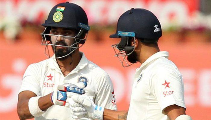 India vs Australia : राहुल और पुजारा डटे, भारत का स्कोर 64/1