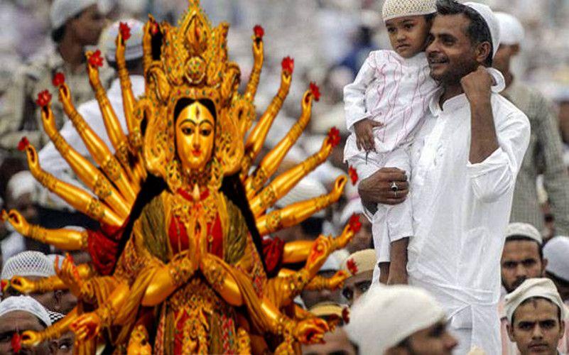 Image result for उत्तर प्रदेश में मुस्लिम युवक ने रखा नवरात्री का व्रत