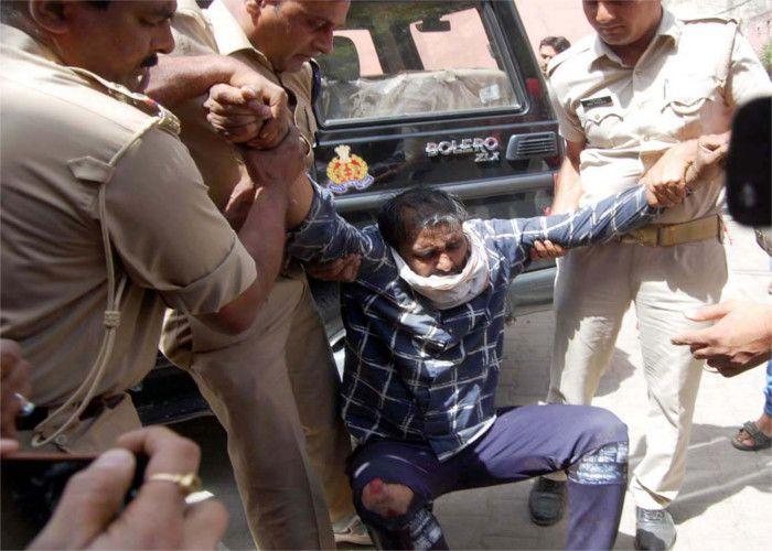 कैराना से हिंदुओं को पलायन कराने वाले दशहतगर्द फुरकान की हालत गंभीर