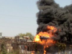 विद्युत केंद्र में आग लगने से 40 लाख की क्षति, 100 गांव अंधेरे में डूबे