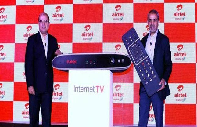 एयरटेल ने 7999 रुपए सालाना में इंटरनेट टीवी लांच किया