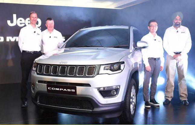 Jeep की मेड इन इंडिया SUV 'कंपास' जुलाई में भारत में होगी लॉन्च