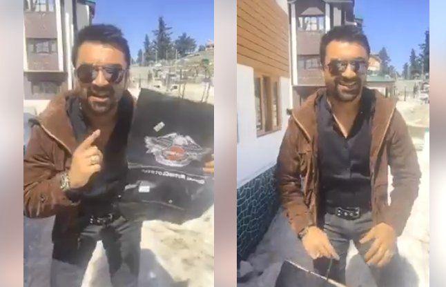 Video: एक्टर एजाज खान ने गौरक्षकों को दिया चैलेंज, हिम्मत है तो ऐसा करके दिखाओ