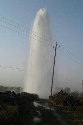 यह भी पढ़े: जमीन से फूटी पानी की 400 फीट ऊंची धार