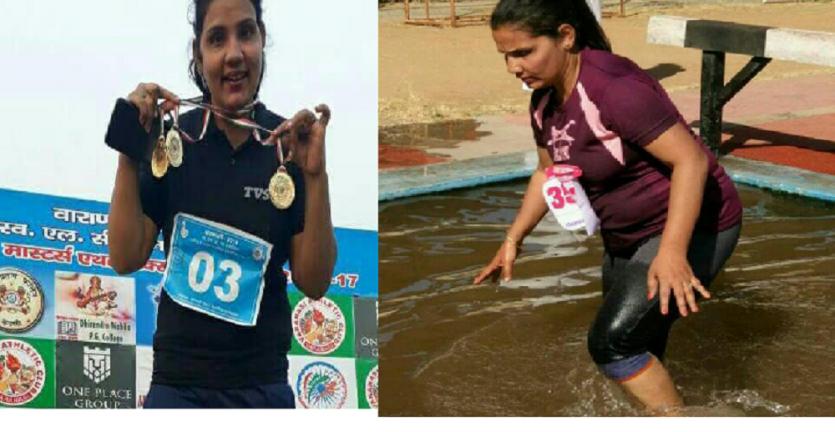 काशी की इस बेटी को सलाम, डॉक्टरों ने मान ली थी हार, दौड़ कर बन गई इंडियन एथलीट