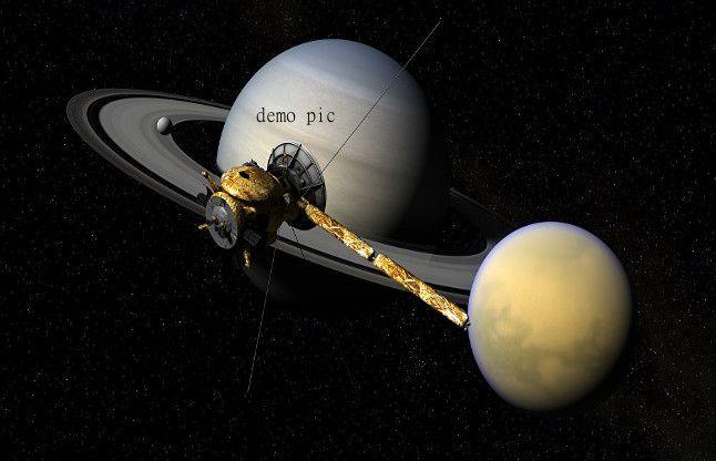 कासिनी शनि के उपग्रह टाइटन के लिए उड़़ान भरने को तैयार
