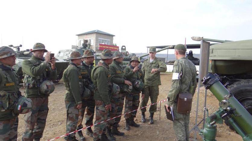 भारत-रूस के बीच इस साल होगा 'त्रिकोणीय' युद्धाभ्यास