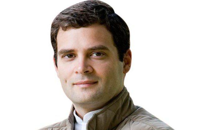 राहुल गांधी एक को डेडियापाडा में