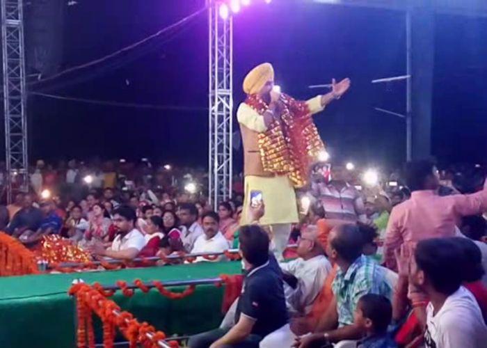श्री देवी मेला में लक्खा ने बांधा भक्ति का समां, देखें वीडियो