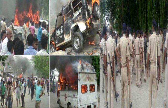मुजफ्फरपुर के अस्पताल में दंगा, डॉक्टर और ग्रामीण आमने-सामने
