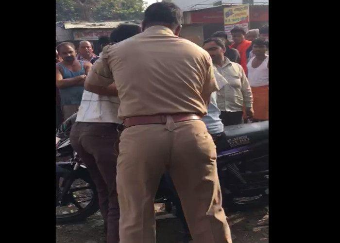 वीडियो में देखें, यूपी पुलिस का एेसा रूप आया सामने, कांप जाएगी रूह!