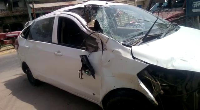 BIG BREAKING मुजफ्फरनगर के उप जिलाधिकारी कार हादसे में जख्मी, अस्पताल में भर्ती