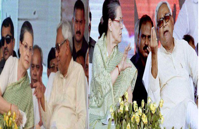 मुलाकातः सोनिया गांधी और नीतीश कुमार के बीच महागठबंधन की कवायद