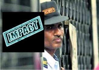 Patrika Impact- रुकी सुरक्षा के नाम पर हर महीने हो रही 37 लाख की गड़बड़ी