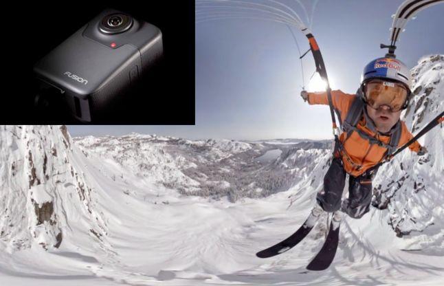 GoPro ने पेश किया नया 360 डिग्री शूटिंग करने वाला Fusion Camera