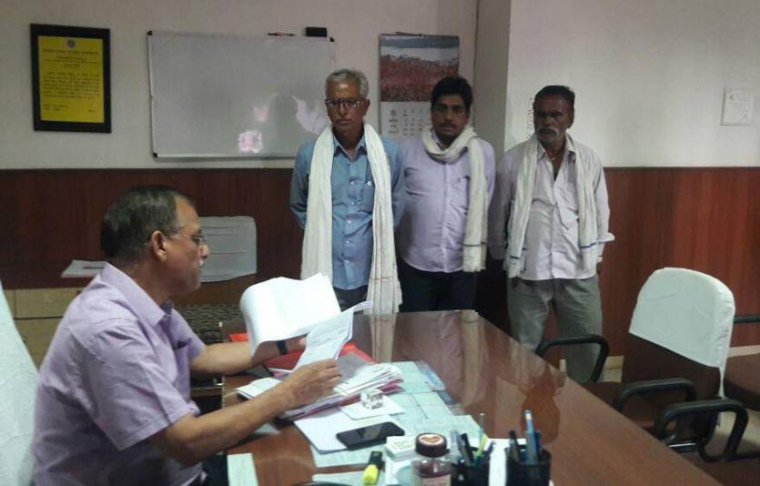 रिश्वत के लिए सहायक खाद्य आपूर्ति अधिकारी बोले, 20 हजार रुपए दो सब समाधान करा दूंगा