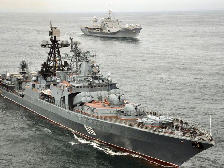 लाल सागर में मिस्र और अमरीका का संयुक्त नौसैनिक अभ्यास शुरू
