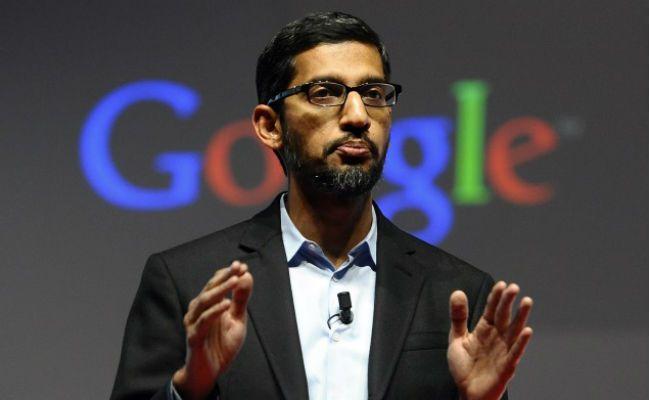 गूगल सीईओ सुंदर पिचाई ने 2016 में 200 मिलियन डॉलर कमाए