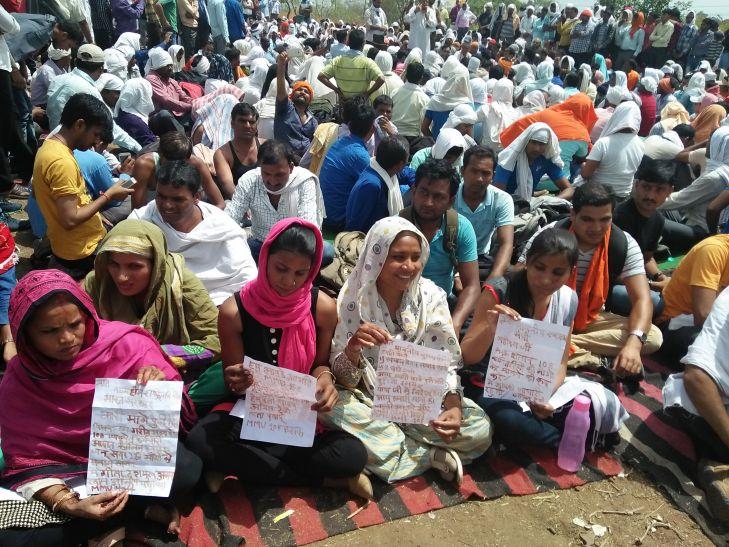 108 की हड़ताल: शिवराज सरकार चुप, कर्मचारियों ने खून से लिखा पत्र