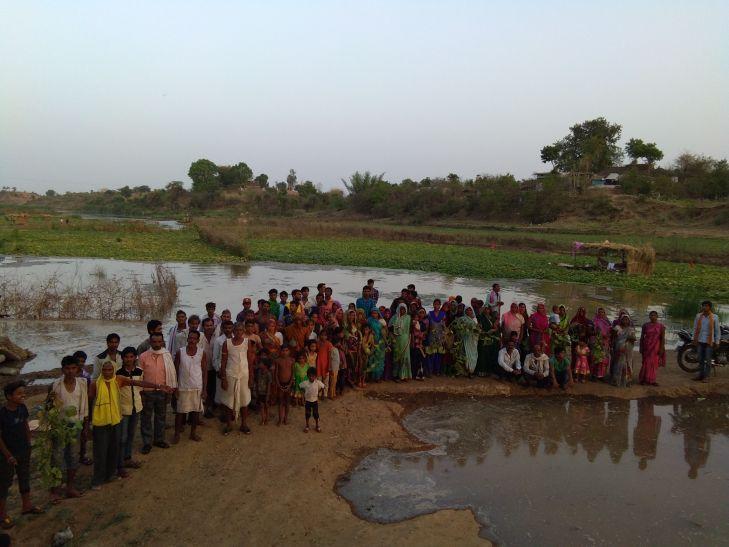 मवेशियों के लिए खोले बांध के गेट, 157 परिवारों की फसल डूबी