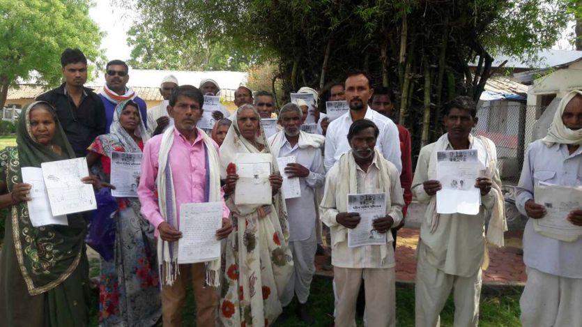 50 दलित परिवारों ने कहा, तिल-तिलकर मरने से बेेहतर है हमें दे दो इच्छामृत्यु