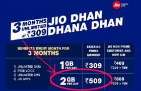 Reliance Jio Recharge Packs Hindi News, Reliance Jio Recharge Packs