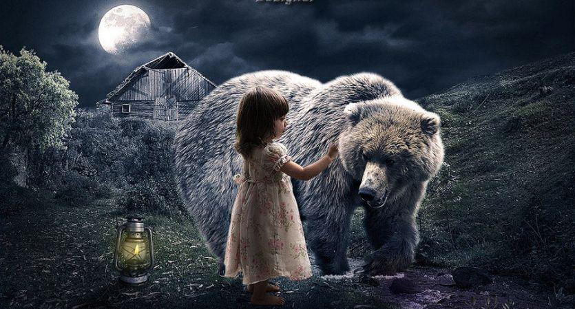 जब जंगल में मिल जाए भालू तो बच्चों क्या करोगे