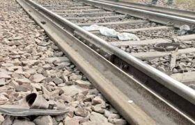 बम से उड़ाई गई रेल पटरी दुरुस्त, रेल सेवा भी हुई शुरु