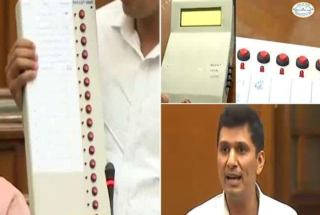 दिल्ली विधानसभा: सीक्रेट कोड से EVM से छेड़छाड़ संभव-सौरभ भारद्वाज