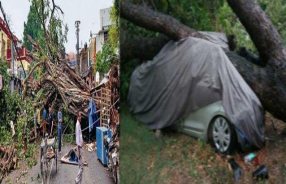 आंधी और बारिश ने भागलपुर और सीमांचल में मचाई तबाही, 8 मरे