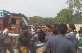 बजरंग दल के कार्यकर्ताओं पर हमला, हजारीबाग बंद