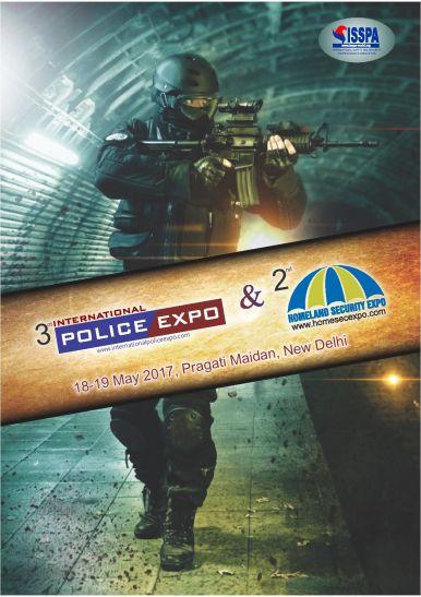 तृतीय अंतर्राष्ट्रीय पुलिस एक्सपो 18 एवं 19 मई को प्रगति मैदान में