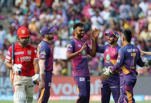 IPL 2017 : पुणे ने पंजाब को 73 रनों पर समेटा