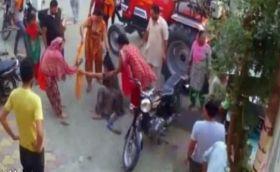 पठानकोट शहीद के भाई और भाभी के साथ मारपीट; वीडियो वायरल