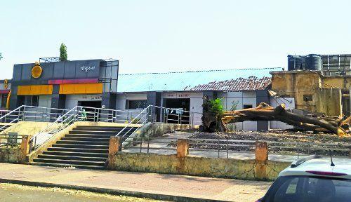 मॉडल रेलवे स्टेशन या मनमाना