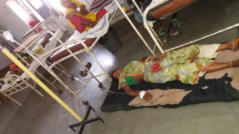 गर्मी ने बिगाड़ी लोगों की सेहत, मरीज बढऩे से अस्पताल की भी हेल्थ बिगड़ी