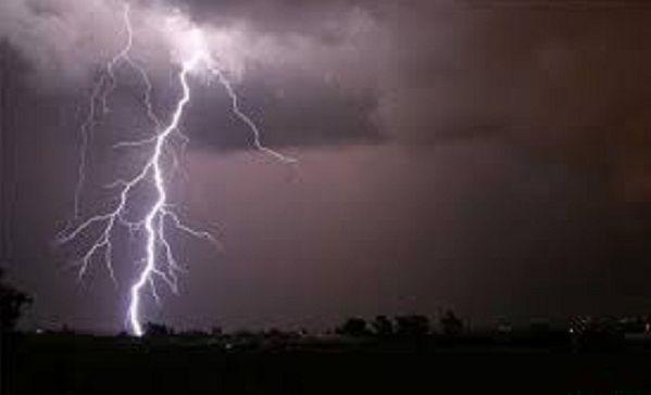 आकाशीय बिजली से एक युवक की मौत