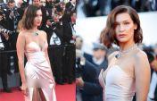 Cannes 2017: रेड कार्पेट पर खिसक गई इस मॉडल की ड्रेस