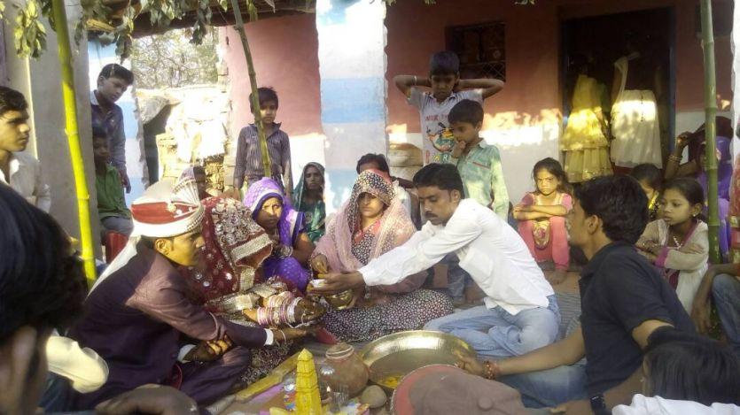 चाय पर चर्चा के बाद लिया गरीब कन्या के विवाह का संकल्प
