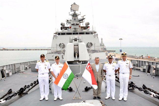 भारत-सिंगापुर नौसेना अभ्यास में क्षेत्रीय हितों का रखे ध्यानः चीन