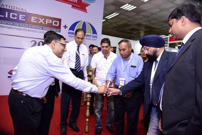दिल्ली में आयोजिल हुआ तीसरा अंतर्राष्ट्रीय पुलिस एक्सपो