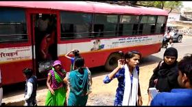 बिहार की बसों में यात्रियों की सुरक्षा राम भरोसे