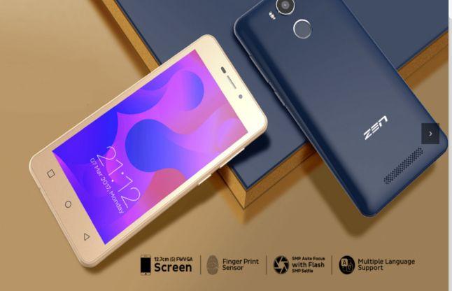 Zen Mobile ने मात्र 5999 रुपए में लॉन्च किया फिंगरप्रिंट सेंसर वाला फोन