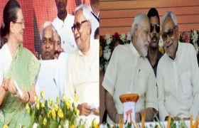 दोनों हाथों में लड्डू रखकर राजनीति करते हैं नीतीश कुमार