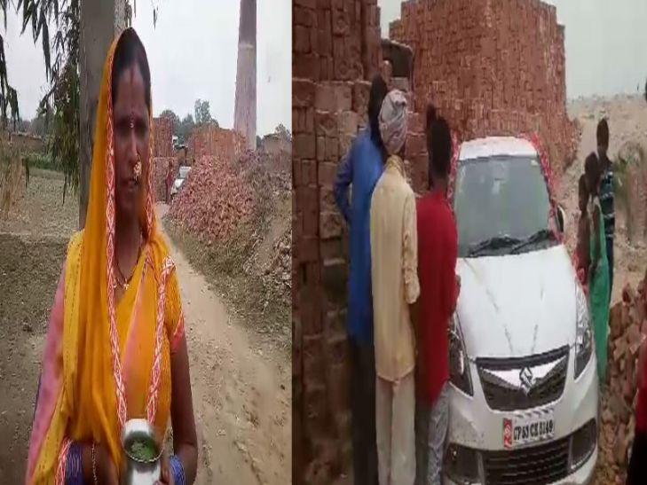 जब मुख्यमंत्री योगी आदित्यनाथ के गोद लिए गांव में फंस गई दुल्हन की गाड़ी, देखें वीडियो