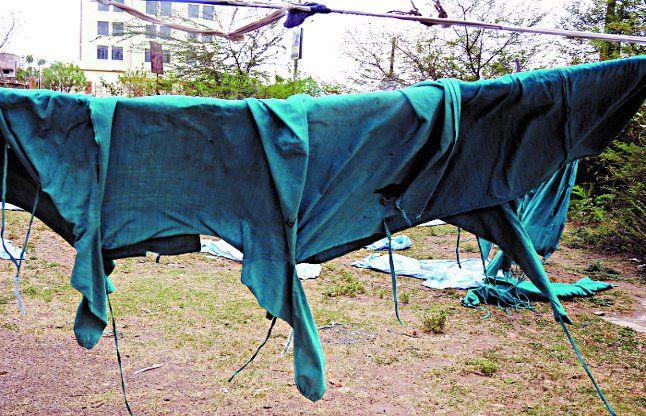 अस्पताल के कपड़े धुलेंगी मशीन से, 8 दैनिक वेतनभोगी हो जाएंगे बेरोजगार