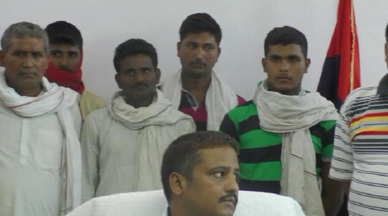 आजमगढ़ डबल मर्डर केस: पुलिस ने सात इनामी आरोपियों को किया गिरफ्तार