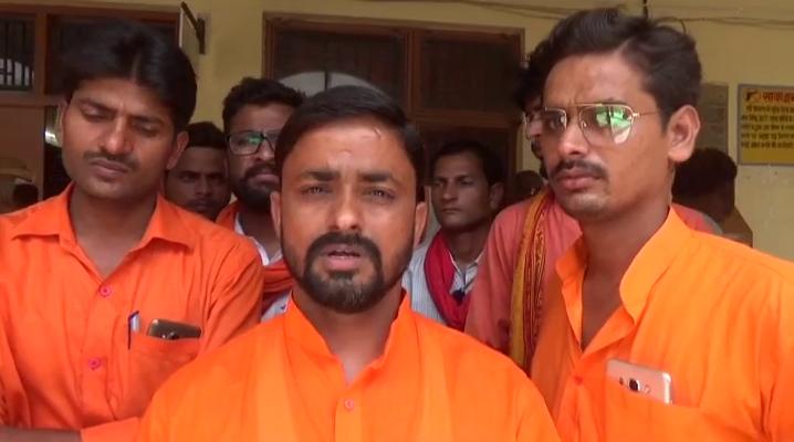 जमीन के विवाद को लेकर दो पक्ष आमने- सामने, हिंदु युवा वाहिनी ने कार्यकर्ताओं ने...